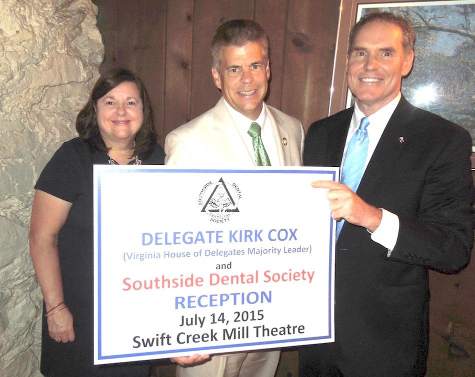 Kirk Cox reception